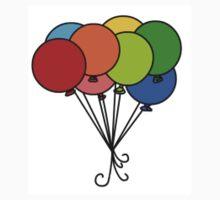 Balloons Baby Tee