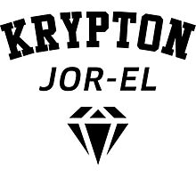 Krypton Jor-EL Photographic Print