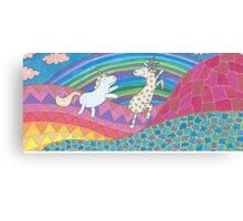 Flight in Psychedelia Canvas Print