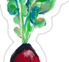 Ode to the Vegetable: Radish Sticker