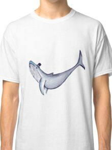 Classy Mr. Whale (in a Top Hat) Classic T-Shirt