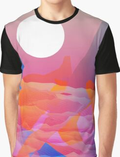 Magic Sunset at D Point Graphic T-Shirt