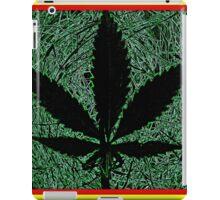 ganja leaf iPad Case/Skin