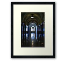 Reflected Hall Framed Print