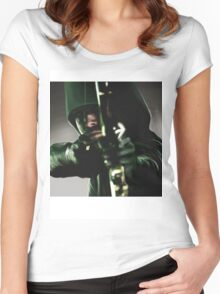 The Green Arrow Women's Fitted Scoop T-Shirt