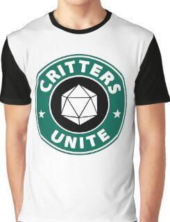 Critters Unite! - Critical Role Fan Design Graphic T-Shirt