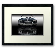 10 1958 Chevrolet Corvette Framed Print