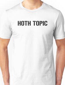 HOTH TOPIC (Black) Unisex T-Shirt