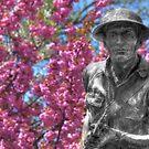 World War I Buddy Monument Statue by Shelley Neff