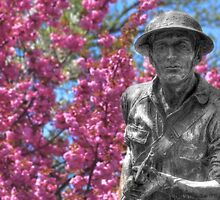 World War I Buddy Monument Statue by Shelley Neff