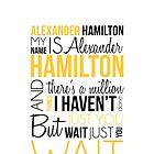 Alexander Hamilton - Hamilton by Michelle Compton
