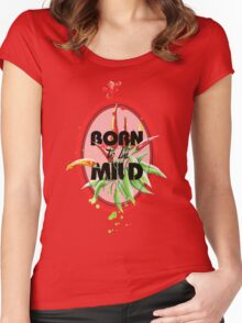Born to be Mild Women's Fitted Scoop T-Shirt