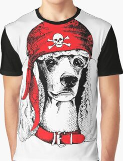 hipster dog Graphic T-Shirt
