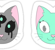 cat cat cat Sticker