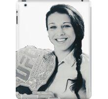 Joanna Jedrzejczyk iPad Case/Skin
