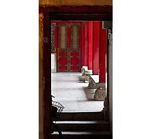 Through the Door Photographic Print