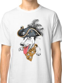 Crazy hipster dog  Classic T-Shirt