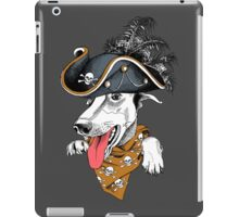 Crazy hipster dog  iPad Case/Skin