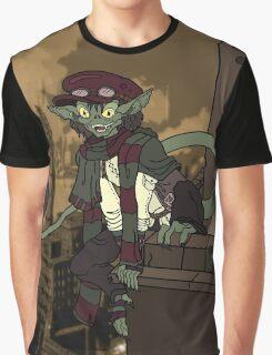 Steampunk Gremlin Graphic T-Shirt