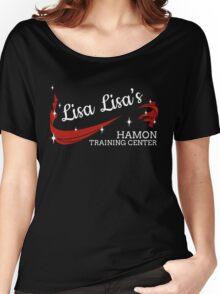 Lisa Lisa's Hamon Training Center [Red & White Ver.] Women's Relaxed Fit T-Shirt
