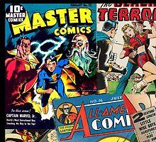 Cartoon Comics Magazine Collage Retro Marvel by CarlosV