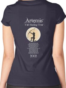 Artemis Fall Hunting Tour Women's Fitted Scoop T-Shirt