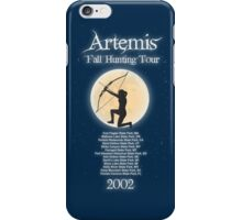 Artemis Fall Hunting Tour iPhone Case/Skin