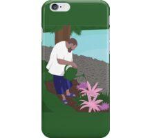 DJ Khaled watering plants iPhone Case/Skin