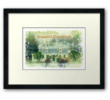 Home for Christmas Framed Print