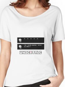 ❤ ♥ Undertale Papyrus Funny ♥ ❤ Women's Relaxed Fit T-Shirt
