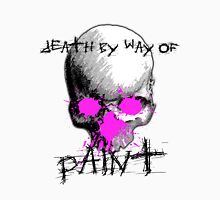 Death By Paint Pink Unisex T-Shirt