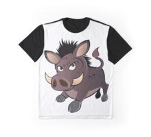 funny boar Graphic T-Shirt