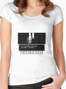 ❤ ♥ Undertale Doge ♥ ❤ Women's Fitted Scoop T-Shirt