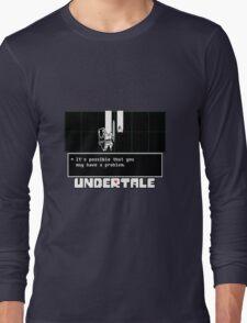 ❤ ♥ Undertale Doge ♥ ❤ Long Sleeve T-Shirt