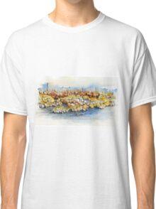 Rock Study 1 - Mixed Media Classic T-Shirt