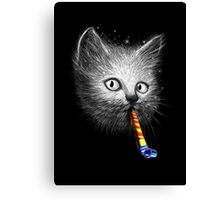Slurp Party Canvas Print