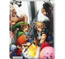 super smash bros link cloud mario kirby DK iPad Case/Skin