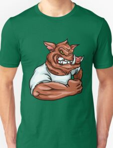 angry Boar Unisex T-Shirt