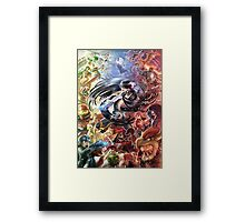 super smash bros bayonetta gets wicked Framed Print