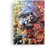 super smash bros bayonetta gets wicked Canvas Print