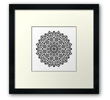 Flower Waltz Framed Print