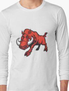 wild hog Long Sleeve T-Shirt