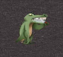 Brushing teeth crocodile Hoodie
