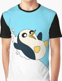 GUNTER THE PENGUIN Graphic T-Shirt
