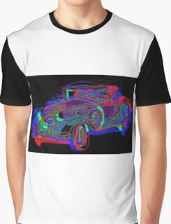 Neon 1930 Cadillac Graphic T-Shirt