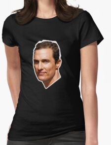 Lord McConaughey Womens Fitted T-Shirt