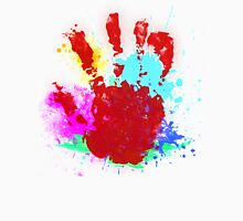 Paint Handprint Unisex T-Shirt