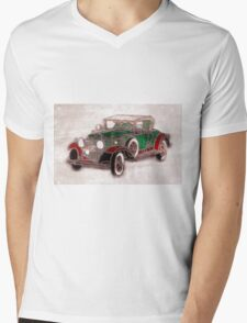 1930 Cadillac Mens V-Neck T-Shirt