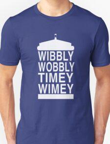 Wibbly Wobbly Timey Wimey - Doctor Who Unisex T-Shirt
