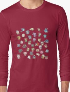 Pokemon Pic & Mix Long Sleeve T-Shirt